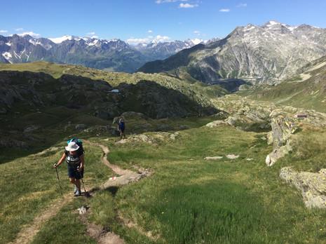 Hüttenwanderung im Gotthardgebiet