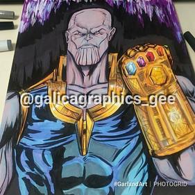 #FingerSnap #Thanos #GarlandArt gonna #R
