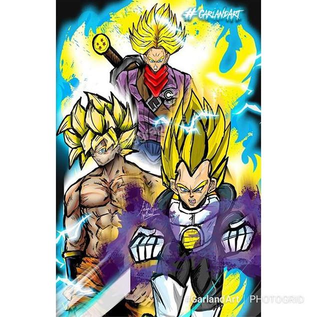#Vegeta #Trunks #Goku #SuperSaiyan #Garl