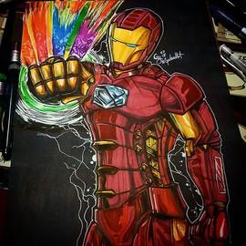 #Ironman #TonyStark #Inktober #InktoberG