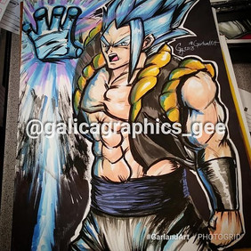 Introducing #Gogeta  to the #Gee48 #Artw