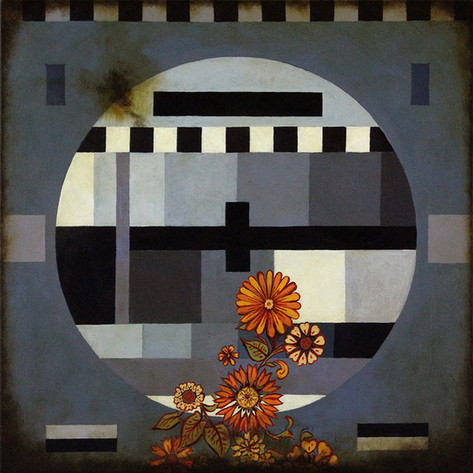 Test Pattern and Flowers #2