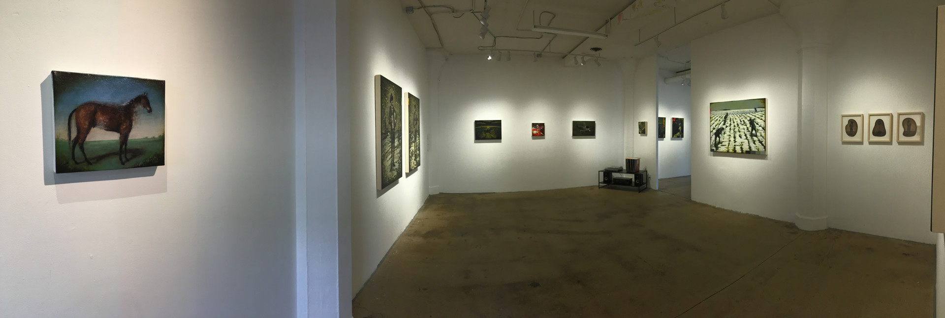 Main gallery installation view 3