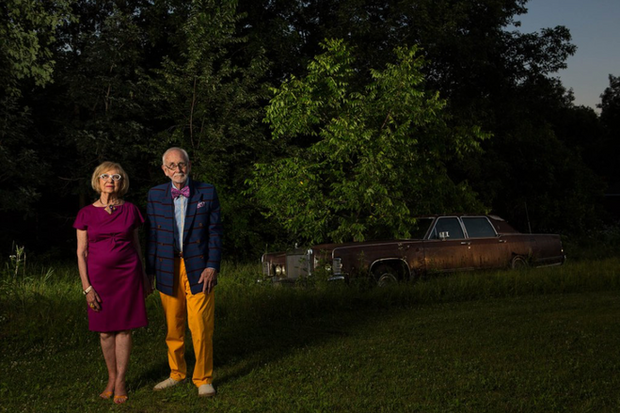 "Donna and Tony - Pewaukee, 2015. From: ""Neighborhood"""