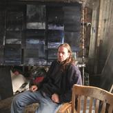 David Niec in his Studio