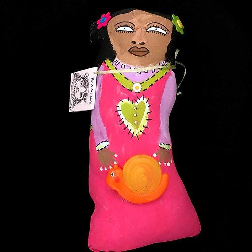 Della's Folk Art Dolls - Maggie Louise Carperdale