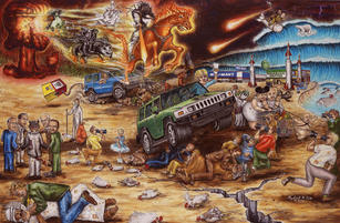 Norbert Kox The End of Days, nd Oil and Acrylic on Canvas