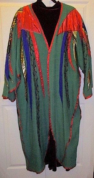 Rosemary Ollison, green dress