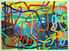 Options, 2019 Acrylic on canvas 30 x 40 inches