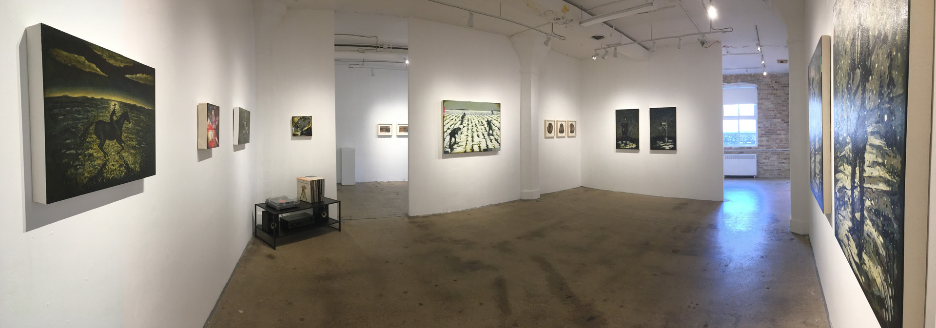 main gallery installation view