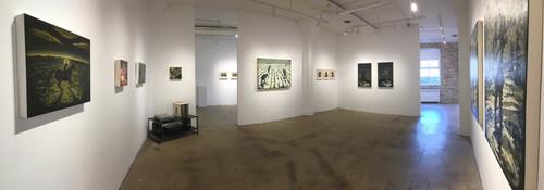 main gallery installation view