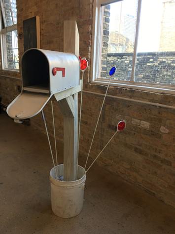 Mailbox installation view 2