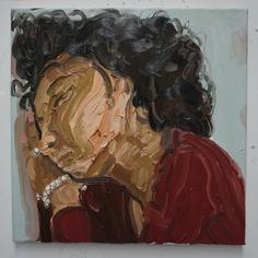 Gesto No. 2, 2016 Oil on canvas 20 x 20 inches