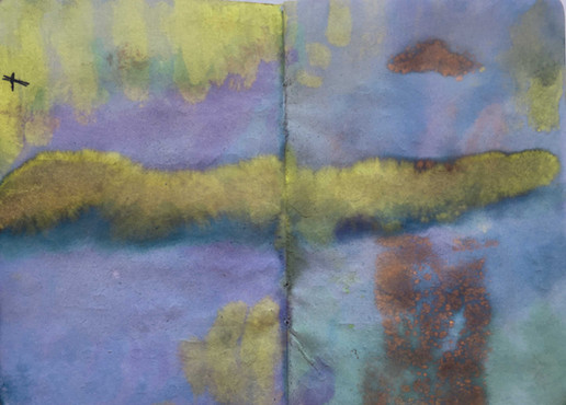 Christal West, sketchbook page