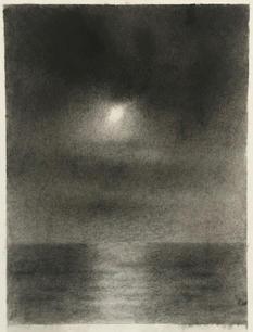 David Niec 74% Moonset over Lake Michigan