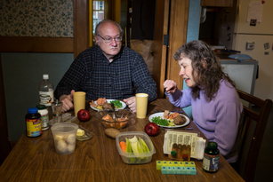 "Monday: Eric and Sally, 2013. From: ""Weeknight Dinners"""