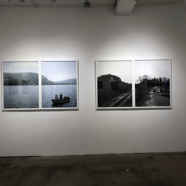Installation view, Mark Brautigam