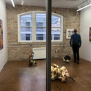 Installation view, What On Earth