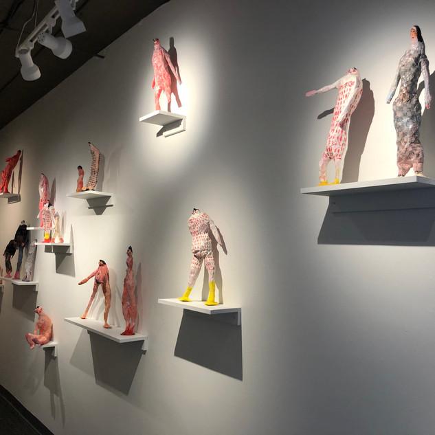 Ashley Lusietto Installation view Honey Dolls