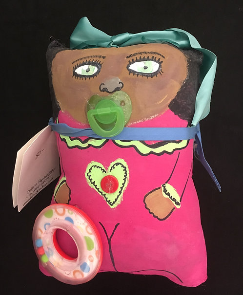 Della's Folk Art Dolls - Baby Jen