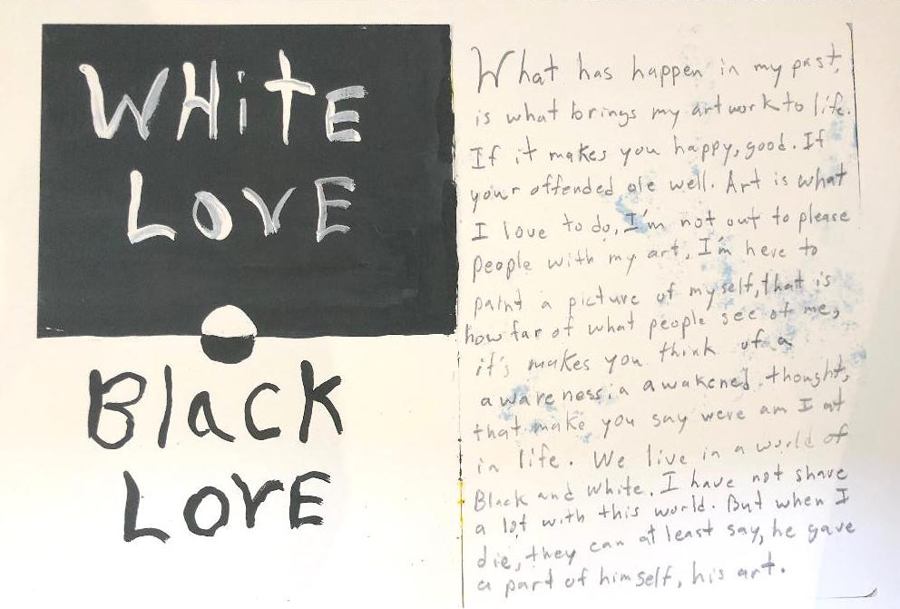 Damon White, White love black love
