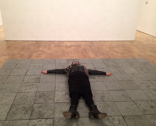 Debra on Carl Andre's Work at the MAM