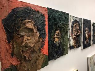 Studio wall, Herman Aguirre