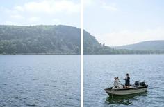 Mark Brautigam Devil's Lake I, 2018 Inkjet print Variable dimensions: 20 x 30 (2 15 x 30 prints) 40 x 60 (2 30 x 40 prints)
