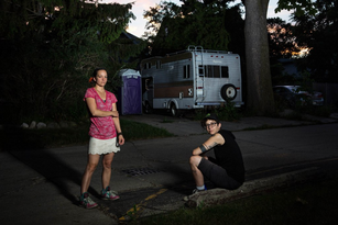 "Mary and Jillian - Riverwest, 2015. From: ""Neighborhood"""