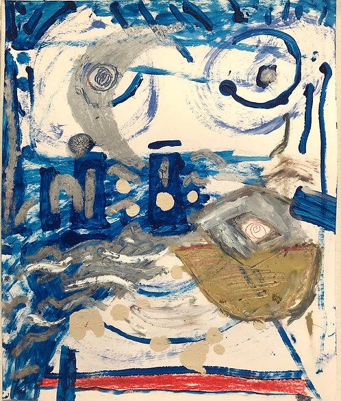 Skully Gustafson, Untitled (Boat), 2020