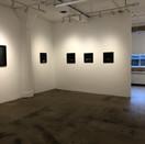 Installation view with Lauren Semivan (left) and David Niec (paintings)