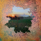 Shane McAdams, Algoma, 2020. Oil, PVA, and acrylic on panel 48 x 48 inches.
