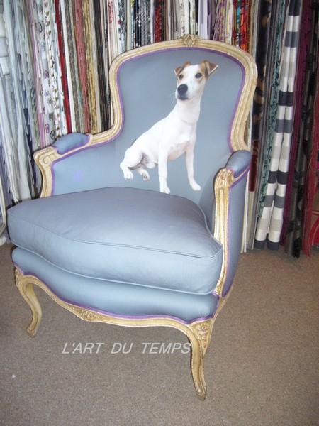 Bergère_de_style_Louis_XV_tissu_imprimé_par_nos_soins_d'après_photo_fournie_par_les_clients