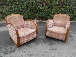 Paire de fauteuils 1925