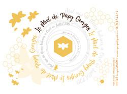2019 Etiquette miel