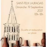 19.09 - Journées du Patrimoine - Marché de St.Félix de Lauragais