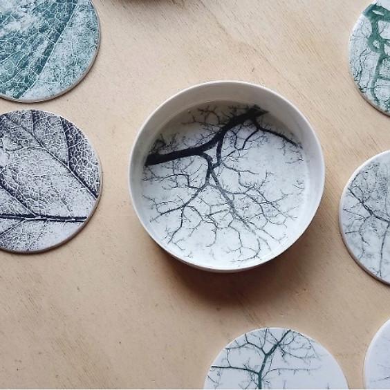 La Hütte: Stage Transfert sur porcelaine