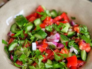 Shepherd's Salad Recipe (ÇOBAN SALATASI)