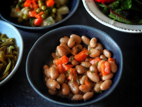 Turkish Cranberry (Borlotti) Beans in Olive Oil Recipe (Barbunya Pilaki)