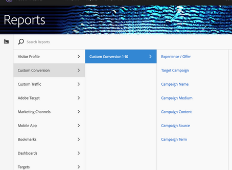 Adobe Analytics Değişken Yapısı