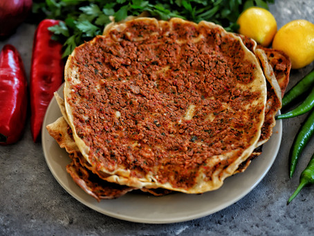 Turkish Meat Flatbread-Lahmacun-Recipe