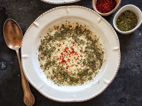 Turkish Yoghurt Soup with Mint Butter (Yayla Corbasi)