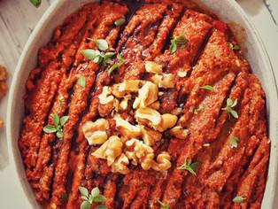 Turkish Mezes:Muhammara Dip Recipe