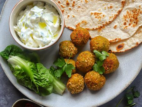 Falafel-Chickpea Meatballs Recipe