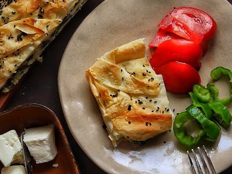Turkish Spinach and Cheese Pastry Recipe-Ispanakli Peynirli Borek