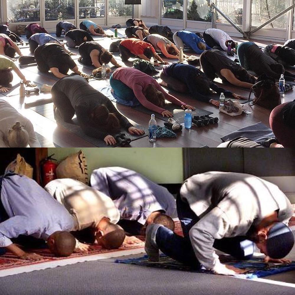 yoga and islam