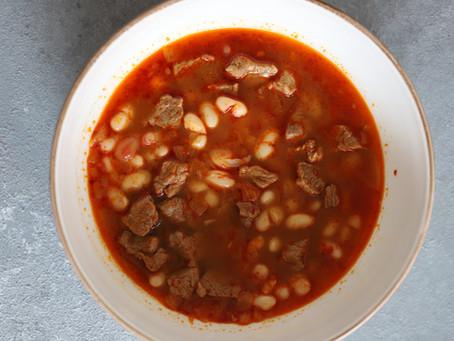 Turkish Lamb and Bean Casserole Recipe (Kuru Fasulye)