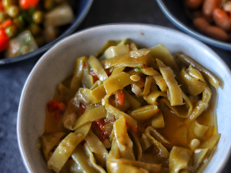Turkish Style Braised Green Beans