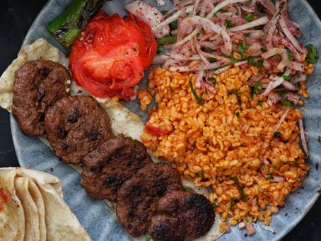 Turkish Grilled Meatballs Recipe (Köfte)