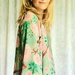 Mini Kimono: Cherry Blossom Pink